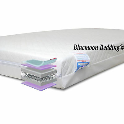 140 x 70 x 13 Pocket Sprung Baby mattress cot bed UK Made In Manchester