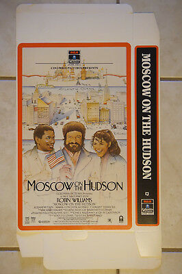 Moscow on the Hudson Robin Williams  video poster display box promo 1984