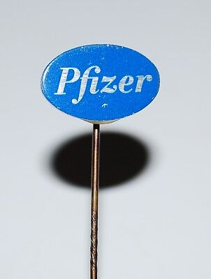 PFIZER INC - American Pharmaceutical Corp.Anstecknadel, Pin, medicine pharmacy