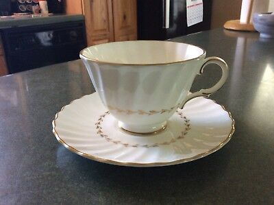 Royal Doulton English Fine Bone China Adrian Cup And Saucer