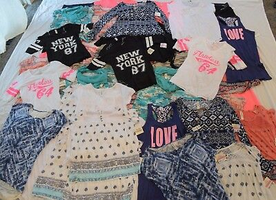 $698 MSRP 65pc Wholesale Lot Juniors Womens Clothing Tops Jeggings Dresses NEW
