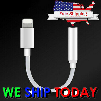 OEM Apple Lightning to Headphone jack Adapter iPhone 7 & 7 Plus  *iOS 10.2 ONLY*