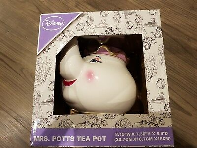 Mrs Potts Teapot Beauty And The Beast Ceramic Teapot New Boxed Sold Out Primark