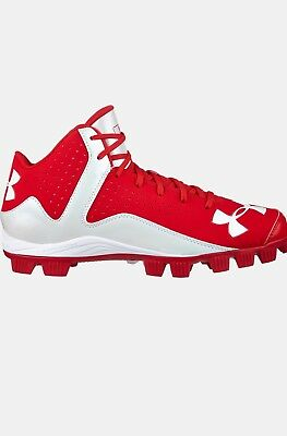 Under Armour Men's Leadoff Mid Baseball Ua Cleats Authentic Mlb Armour Bound ⚾️