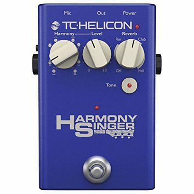 TC-HELICON Harmony Singer guitar vocal effector