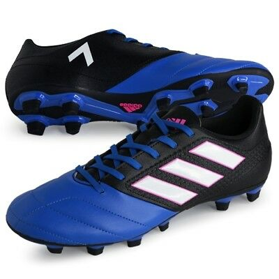 timeless design bf30d 3fc5c BA9688 Mens Adidas ACE 17.4 FxG Flexible Ground Boots Football GENUINE UK  -7,5