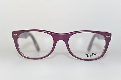 7f9f63ee72 New Authentic Ray-Ban Rb 5184 5408 Purple Frames Eyeglasses 50Mm Rb5184 Rx