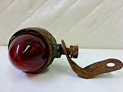 Vintage Red Green Boat Light Beacon Boating Sailing Maritime Safety Lamp