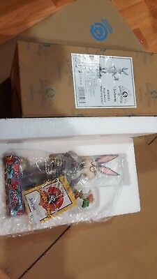 Nib Jim Shore Looney Tunes Bugs Bunny What's Up Doc Figurine