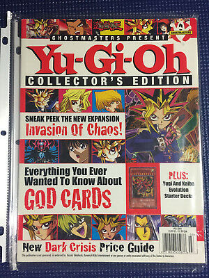 Ghostmasters Present Yu-Gi-Oh! Collector's Edition #3 2004 Magazine - Like New
