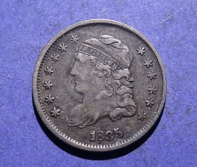 1835 Capped Bust Half Dime Ch. Fine