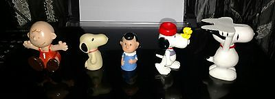 SNOOPY, CHARLIE BROWN, LUCY, Peanuts Lot, United Feature Syndicate, vintage toys