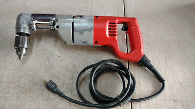 "Milwaukee 1007-1 1/2"" Heavy Duty Electric Corded Right Angle Drill"