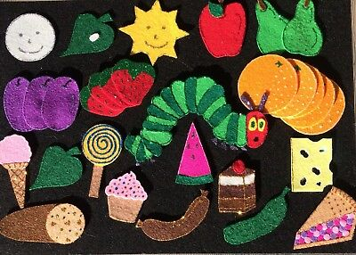 Felt Board Story/nursery Rhyme Teacher Resource - The Very Hungry Caterpillar