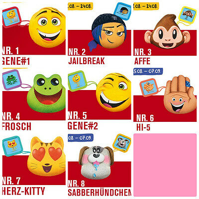 "Mc Donalds Happy Meal "" EMOJI ""  - alle  8 St."