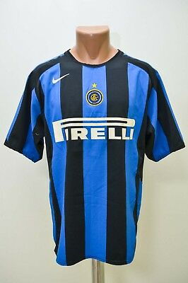 Inter Milan Italy 2005/2006 Home Football Shirt Jersey Maglia Nike M Adult