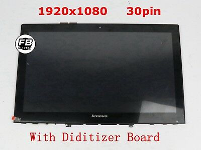 USA New Lenovo Yoga Y50-70 LCD Touch Screen Digitizer Assembly w/ Bezel 20349