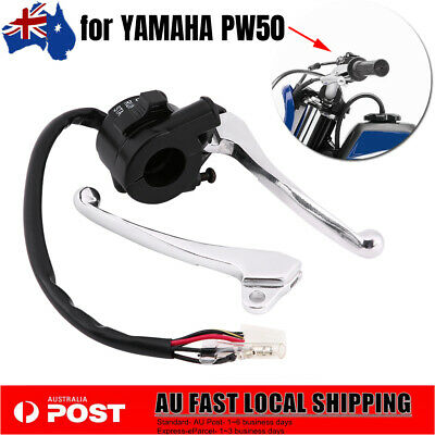 Black Brake Lever Hand Grip Throttle Cable Kit for YAMAHA PW50 AU SHIP