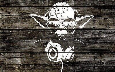 Banksy Framed Canvas  Painting star wars  art print stencil ready to hang