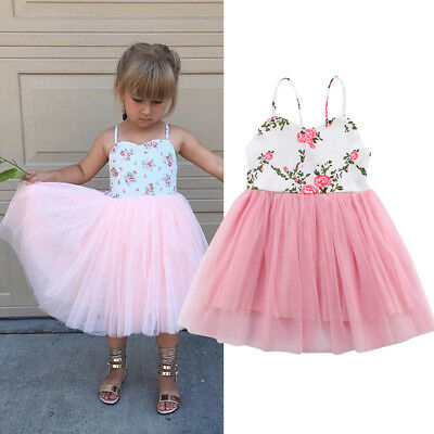 CANIS Flower Girl Dress Baby Lace Long Dress Sundress Party Gown Formal Dresses