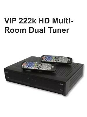 dish network vip 222k tv receiver only 79 99 picclick rh picclick com Dish Network Wiring Guide dish network vip222k manual