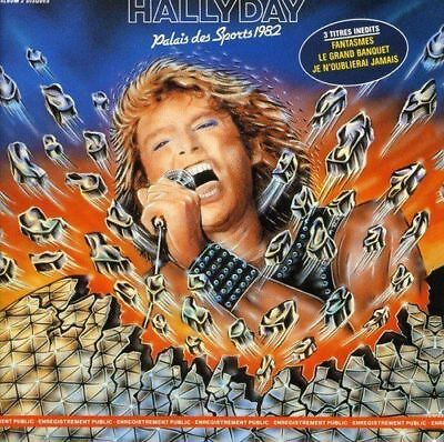 "CD ""Johnny Hallyday""Palais des Sports 1982""    NEUF SOUS BLISTER"