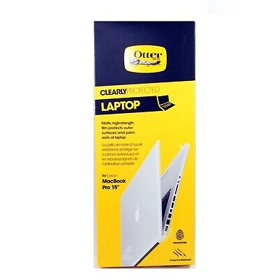 """Otterbox Clearly Protected Laptop Fr Macbook Pro 15"""" 3Rd Gen Retina New 77-29874"""