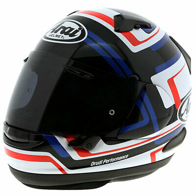 0e6a4486 Arai QV Motorbike Motorcycle Sports Touring Helmet Street Charged - Blue
