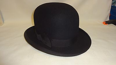 Vintage Bowler Hat - Dunn & Co Size 6 3/4  Very Good Condition