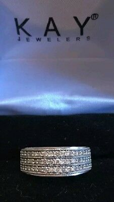 HE WENT to Jared 10k White Gold 12ct 50cttw diamond engagaement