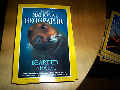 national geographic magazine march 1997