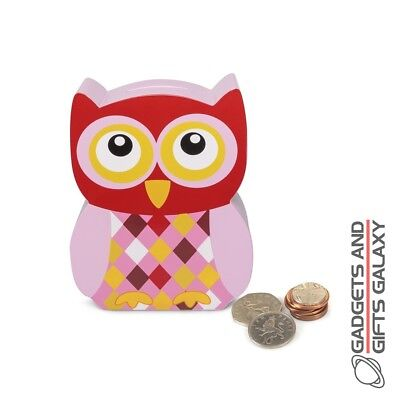 CUTE CARTOON DESIGN OWL MONEY BOX Toys gifts games & gadgets