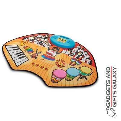 PENGUIN BAND TOUCH SENSITIVE MUSICAL PLAY MAT USE MP3s dance toy gift childs