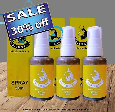 Fish XXL 50 ml spray (Fish attractant 3 pcs)