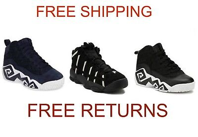 Fila Heritage Kids Youth Retro Basketball Athletic Fashionable Sneakers Athletic