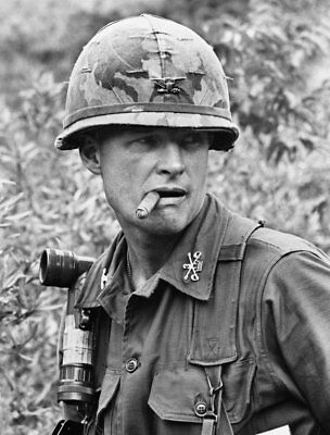 Vietnam War U.S. Army Colonel Hal Moore la Drang Valley High Gloss 8.5x11 Photo