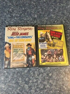 Roy Rogers Collections Lot Of 2 DVD's NIB