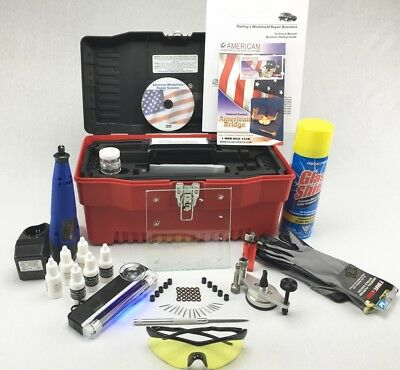 Windshield Repair Kit  Auto Glass Rock Chip Repair kit!
