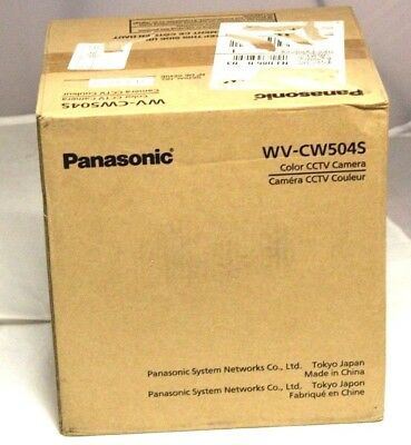 Panasonic WV-CW504s Exterior Dome Security Camera Sealed New In Box
