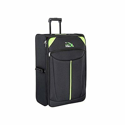 Cabin Max Global Lightweight X Large Folding Suitcase Trolley Travel Luggage