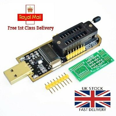 CH341A 24 25 Series EEPROM Flash BIOS USB Programmer + Pinboard [FAST DELIVERY]