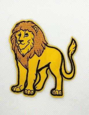 Zoo Animal Lion King Wild Animals Iron On Embroidered Patch  129