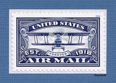 *NEW* 2018 United States Airmail (Blue Single) 2018 Forever MNH - *In Stock Now*