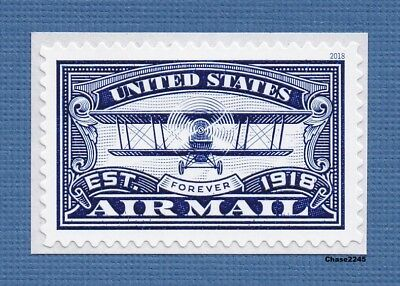 Scott #5281 United States Airmail (Blue Single) 2018 Forever Mint NH