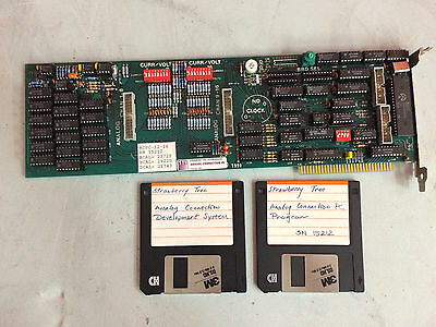 Strawberry Tree Analog Connection PC CHAN 9-16 STI ISA Card w/ Software