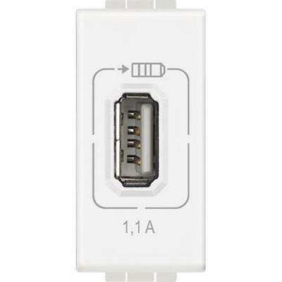 Bticino N4285C1 - Ll - Usb Charger 1,1A White