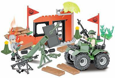 NEW Cobi Brick Model Kit ✔ Kids Small Army Combat Training ✔ COB02164 ✔ 3+ Year