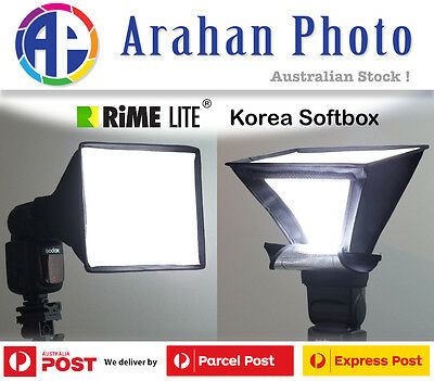 RimeLite Korea Mini Softbox (Windowbox) for Canon and Nikon Flashes