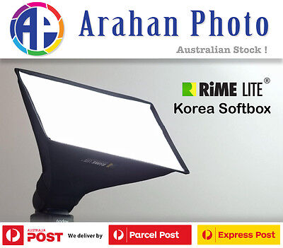 RimeLite Korea Mini Softbox (Rectangular) for Canon and Nikon Flashes