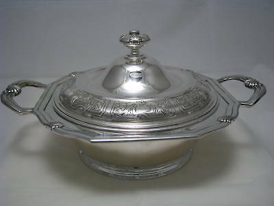 IMPORTANT DUTCH SOLID SILVER ENTREE DISH BOWL by Begeer Holland Netherlands 1900
